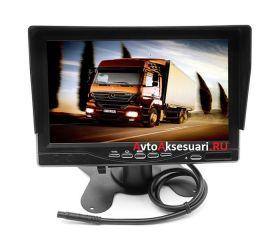 Авто монитор 7 дюймов c козырьком K500